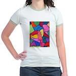 Glass Candy Dish Jr. Ringer T-Shirt