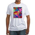Glass Candy Dish Fitted T-Shirt