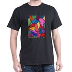 Glass Candy Dish Dark T-Shirt