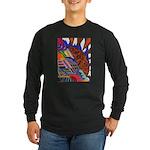 Millennium Long Sleeve Dark T-Shirt