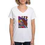 Millennium Women's V-Neck T-Shirt
