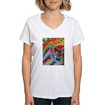 Ginger Jar Women's V-Neck T-Shirt
