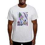 Floral on Wax Light T-Shirt