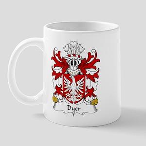 Dyer Family Crest Mug