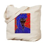 Woman in Headress Tote Bag
