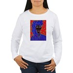 Woman in Headress Women's Long Sleeve T-Shirt