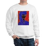 Woman in Headress Sweatshirt