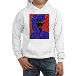 Woman in Headress Hooded Sweatshirt