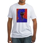 Woman in Headress Fitted T-Shirt
