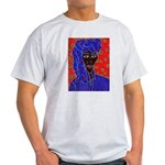 Woman in Headress Light T-Shirt