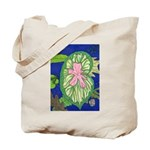 Large Botanical (pink) Tote Bag
