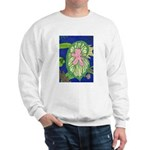 Large Botanical (pink) Sweatshirt