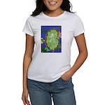 Large Botanical (blue) Women's T-Shirt