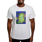 Large Botanical (blue) Light T-Shirt