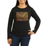 Wild Tree Women's Long Sleeve Dark T-Shirt