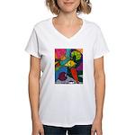 Vegetable Paradise Women's V-Neck T-Shirt