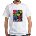 Vegetable Paradise White T-Shirt