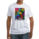 Vegetable Paradise Fitted T-Shirt