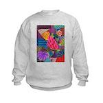 Lines Kids Sweatshirt