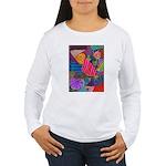 Lines Women's Long Sleeve T-Shirt