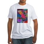 Lines Fitted T-Shirt