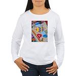 Desk Top Women's Long Sleeve T-Shirt