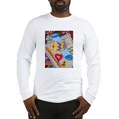 Desk Top Long Sleeve T-Shirt
