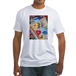 Desk Top Fitted T-Shirt