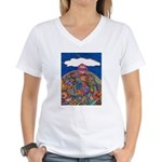 Top Of the World Women's V-Neck T-Shirt