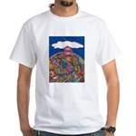 Top Of the World White T-Shirt