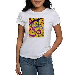 Flying Ribbons Women's T-Shirt