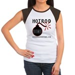 HOT ROD BOMB Women's Cap Sleeve T-Shirt