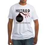 HOT ROD BOMB Fitted T-Shirt