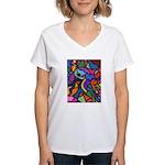 Masquerade Women's V-Neck T-Shirt