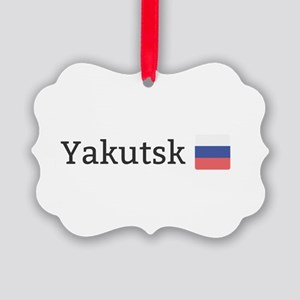 Yakutsk Picture Ornament