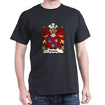 Dennis Family Crest Dark T-Shirt