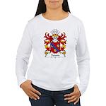 Dennis Family Crest Women's Long Sleeve T-Shirt