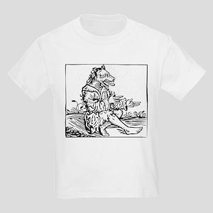 Werewolf Black And T-Shirt