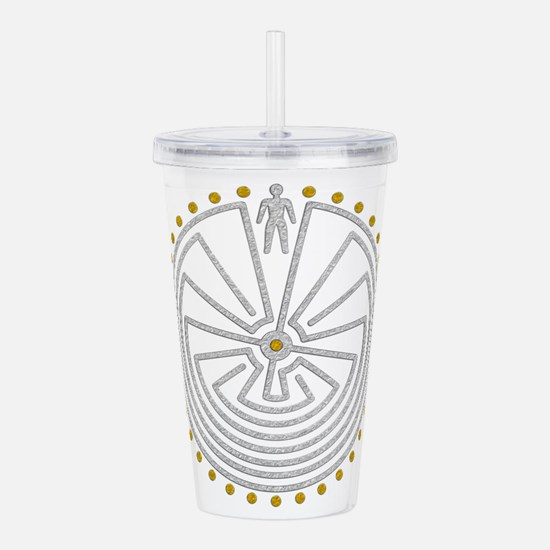 Man In The Maze Medall Acrylic Double-wall Tumbler