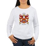 Dawkin Family Crest  Women's Long Sleeve T-Shirt