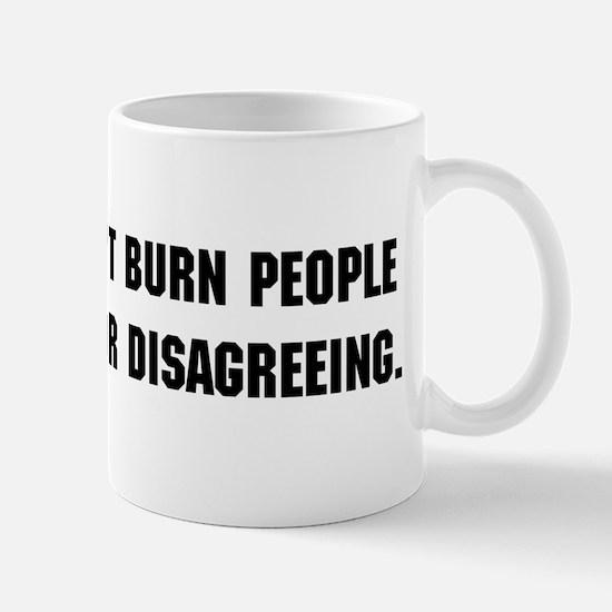 Science Doesn't Burn You Mug