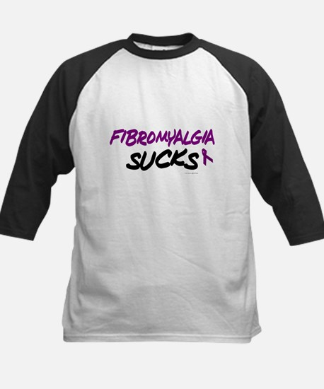 Fibromyalgia Sucks Kids Baseball Jersey