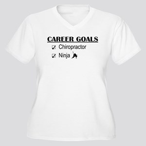 Chiropractor Career Goals Women's Plus Size V-Neck
