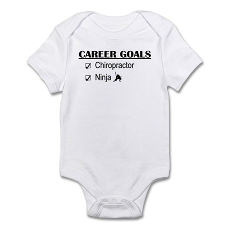 Chiropractor Career Goals Infant Bodysuit