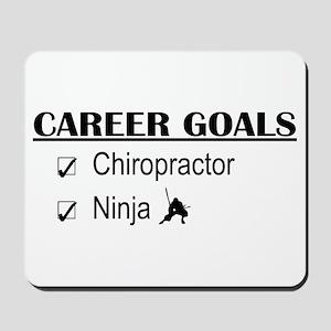Chiropractor Career Goals Mousepad