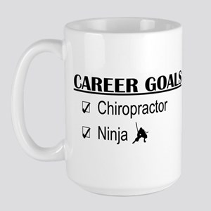 Chiropractor Career Goals Large Mug