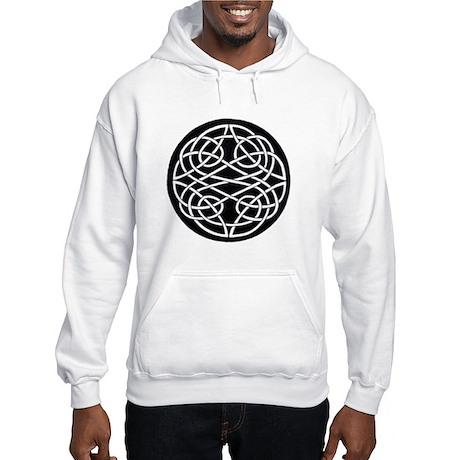 Celtic Knot 2 Part Circle Hooded Sweatshirt