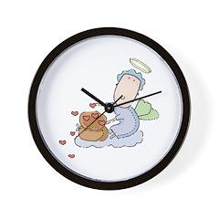 Cute Baby Love Angel/Cupid Wall Clock