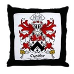 Cydifor Family Crest Throw Pillow