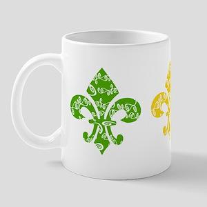 Mardi Fleur Swirl Mug